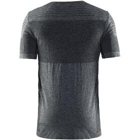 Craft Cool Comfort Couche de base manches courtes Homme, black melange